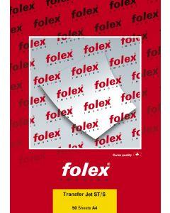 Papier FOLEX Transfert textile pour Laser strip top 50g, A4 50 feuilles