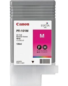 Cartouche (PFI-101M) pour Canon IPF 5000/5100/6100/6200 : Magenta - 130ml
