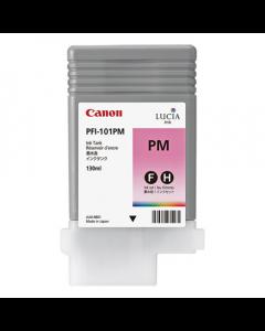 Cartouche (PFI-101PM) pour Canon IPF 5000/5100/6000S/6100/6200 : Photo Magenta - 130ml