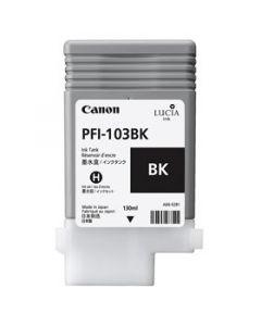 Cartouche (PFI-103BK) pour Canon IPF 5100/6100/6200 : pigment Noir - 130ml