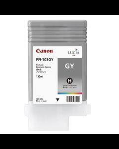 Cartouche (PFI-103GY) pour Canon IPF 5100/6100/6200 : pigment Gris - 130ml