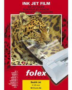 Film FOLEX Backlit Jet 125µ, A4 50 feuilles