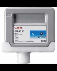 Encre Canon IPF 810/820/815/825 330ml : Cyan PFI303C