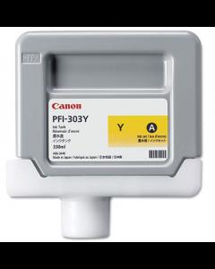 Encre Canon IPF 810/820/815/825 330ml : Jaune PFI303Y