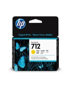 Encre HP 712 Jaune pour HP DesignJet T230/T250/T630/T650  29ml