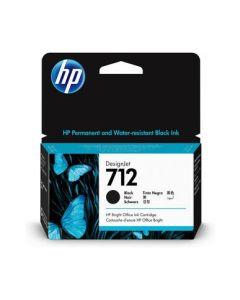 Encre HP 712 Black pour HP DesignJet T230/T250/T630/T650  38ml