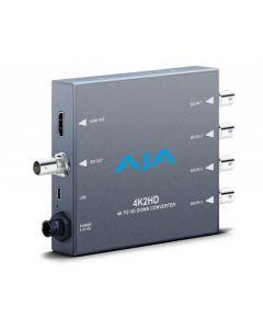 Convertisseur AJA 4K2HD (4K SDI vers 2K HDMI / SDI)