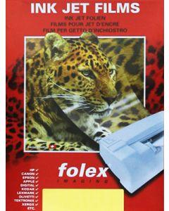 Film FOLEX BG71 Transparent Retropro Laser 100µ, A4 50 feuilles