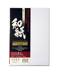 Papier Awagami Premio Kozo White 180g, 10x15cm 10 feuilles