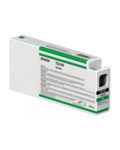 Cartouche d'encre T824 Epson HDX/HD Vert 350ml (C13T824B00)