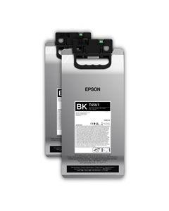 Encre Epson UltraChrome RS pour SC-R5000L -2 poches x1,5L : Noir (C13T45U100)