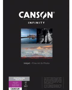 Papier Canson Infinity PhotoGloss Premium RC 270g, A2 25 feuilles