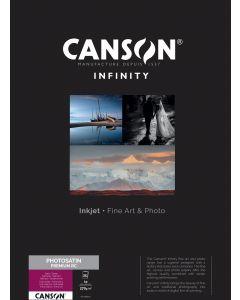 Papier Canson Infinity PhotoSatin Premium RC 270g, A2 25 feuilles