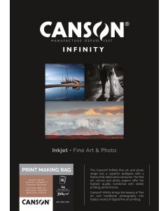 Papier Canson Infinity Print Making Rag (BFK Rives) 310g, A4 25 feuilles