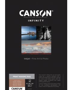 Papier Canson Infinity Print Making Rag (BFK Rives) 310g, A3+ 25 feuilles