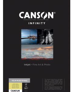 Papier Canson Infinity Velin Museum Rag 315g, A2 25 feuilles