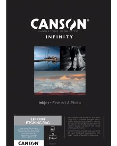 Papier Canson Infinity Edition Etching Rag 310g, A3 25 feuilles