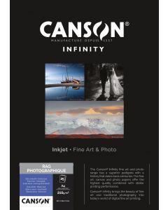 Papier Canson Infinity Rag Photographique 210g, A4 25 feuilles