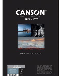 Papier Canson Infinity Rag Photographique 210g, A2 25 feuilles
