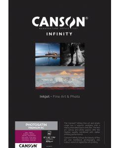 Papier Canson Infinity PhotoSatin Premium RC 270g, A3+ 25 feuilles