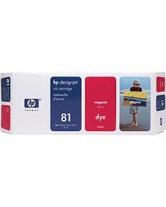 Cartouche C4932A (n°81) pour HP DesignJet Série 5000/5500 Magenta - 680 ml
