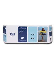 Cartouche C4934A (n°81) pour HP DesignJet Série 5000/5500 Light Cyan - 680 ml