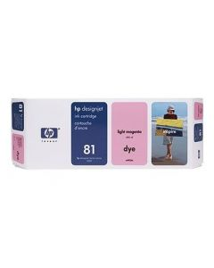 Cartouche C4935A (n°81) pour HP DesignJet Série 5000/5500 Light Magenta - 680 ml