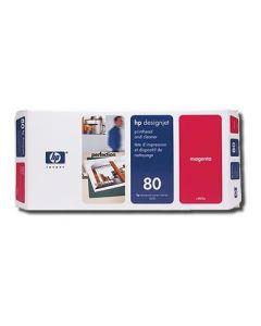 Tête d'impression & Tête de nettoyage C4822A (n°80) pour HP 1050/1055 : Magenta