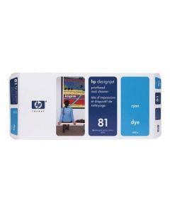Tête d'impression & Tête de nettoyage C4951A (n°81) pour HP 5000/5500 : Cyan