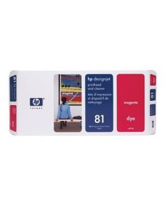Tête d'impression & Tête de nettoyage C4952A (n°81) pour HP 5000/5500 : Magenta