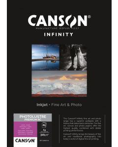 Papier Canson Photo Lustre Premium RC 310g, A4 25 feuilles