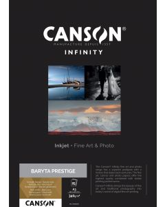 Papier CANSON INFINITY Baryta Prestige 340g A3 25 feuilles