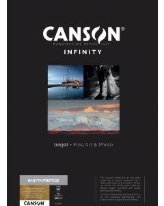 Papier CANSON INFINITY Baryta Prestige 340g A2 25 feuilles