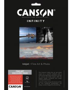 Papier CANSON INFINITY Fine Art discorery Pack A4 7 x 2 Feuilles
