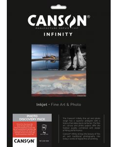 Papier CANSON INFINITY Photo discovery Pack A4 7 x 2 Feuilles