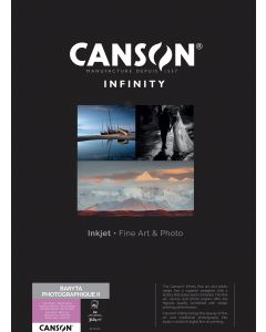 Papier CANSON INFINITY Baryta Photographique II 310g A2 25 feuilles