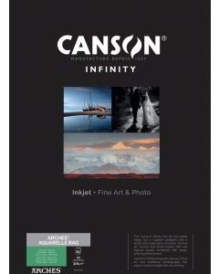 Papier CANSON INFINITY Arches® Aquarelle Rag 310g A2 25 feuilles