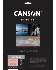 Papier CANSON INFINITY Arches® 88 310g A4 10 feuilles