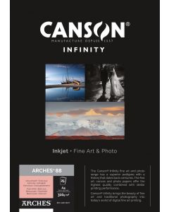 Papier CANSON INFINITY Arches® 88 310g A4 25 feuilles