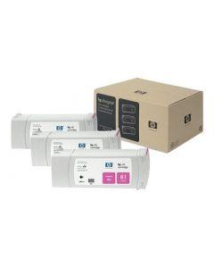 Cartouche C5068A (n°81) pour HP DesignJet Série 5000/5500 Magenta 3-pack - 3 x. 680 ml