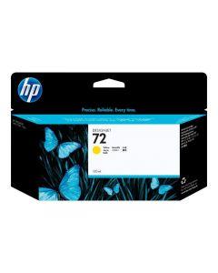 Cartouche C9373A (n°72) pour HP DesignJet T610/T1100 : Jaune - 130ml