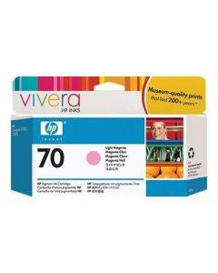 Cartouche C9455A (n°70) pour HP DesignJet Z2100/Z3100/Z3200 : Vivera Light Magenta - 130ml