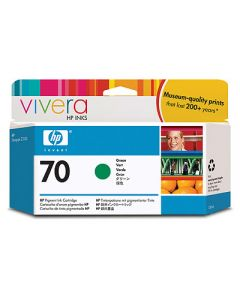 Cartouche C9457A (n°70) pour HP DesignJet Z3100/Z3200 : Vivera Vert - 130ml