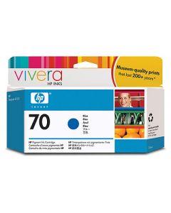 Cartouche C9458A (n°70) pour HP DesignJet Z3100/Z3200 : Vivera Bleu - 130ml
