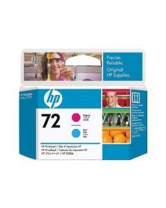 Tête d'impression C9383A (n°72) HP Designjet T610/T1100 : 1x Cyan & Magenta