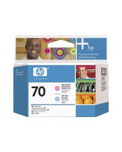 Tête d'impression C9405A (n°70)  pour HP DesignJet Z2100/Z3100/Z3200 - B9180 : Light Magenta & Light Cyan