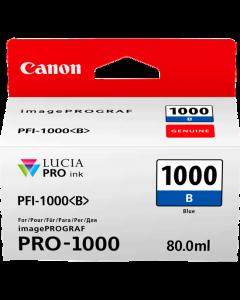Cartouche d'encre Canon PFI-1000B (Bleue)