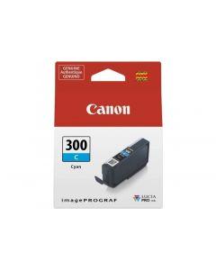 Cartouche d'encre Canon PFI-300C pour Pro-300 : Cyan