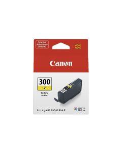 Cartouche d'encre Canon PFI-300C pour Pro-300 : Jaune