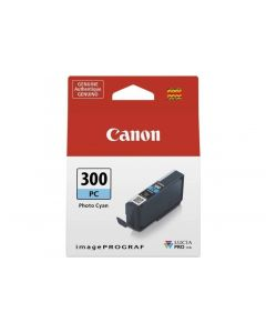 Cartouche d'encre Canon PFI-300C pour Pro-300 : Photo Cyan